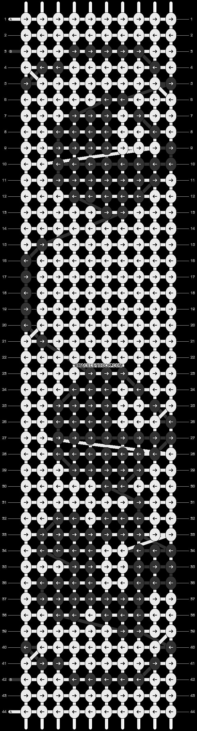 Alpha pattern #18825 pattern