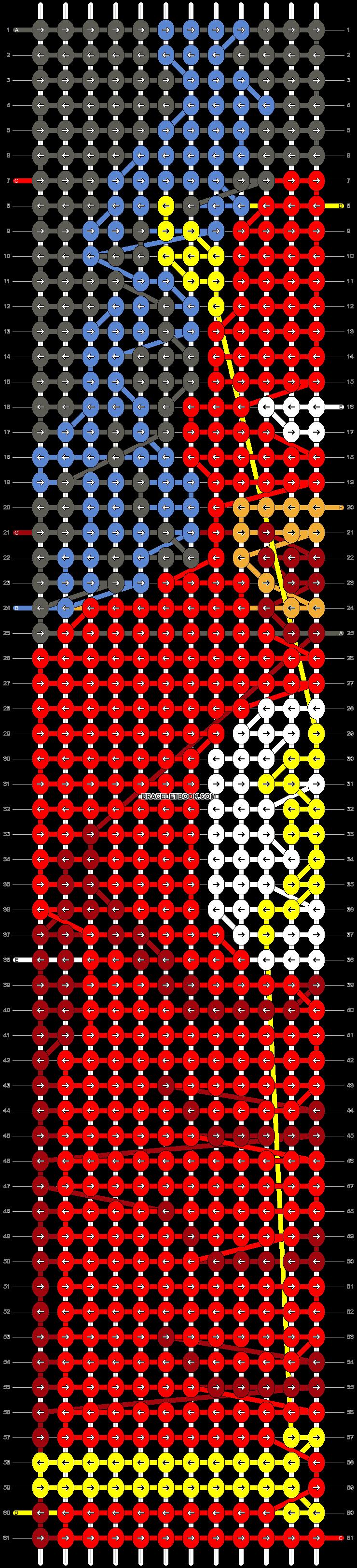 Alpha pattern #18831 pattern