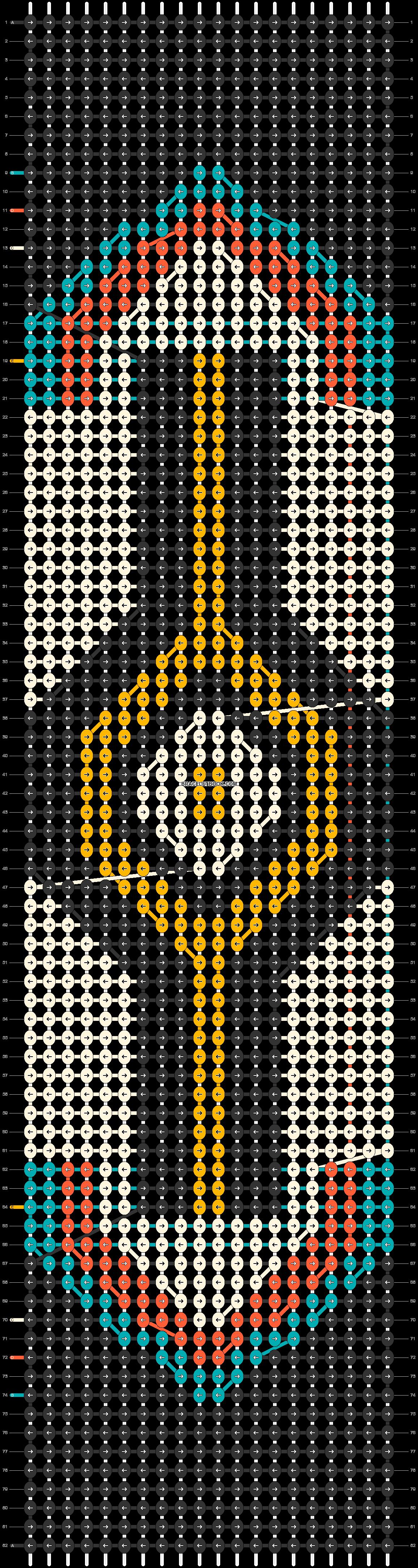 Alpha pattern #18832 pattern