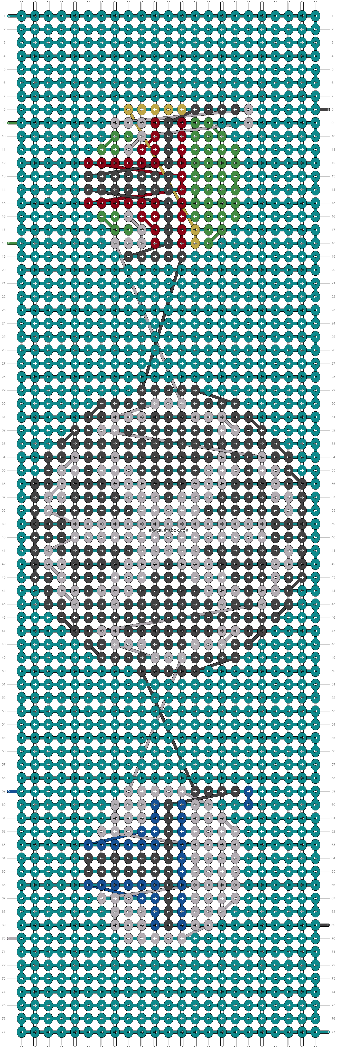 Alpha pattern #18834 pattern