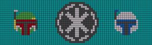 Alpha pattern #18834