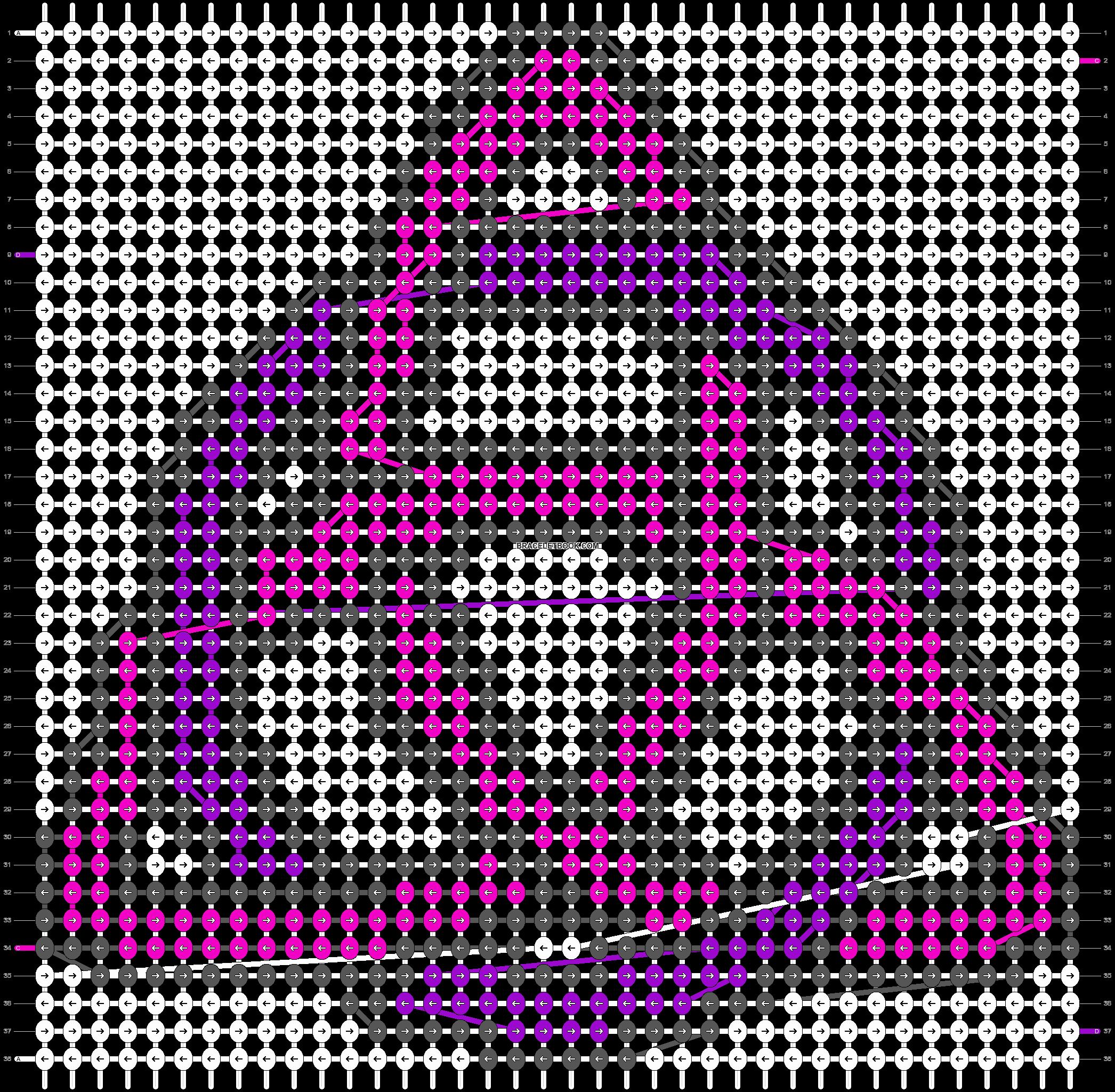 Alpha pattern #18837 pattern