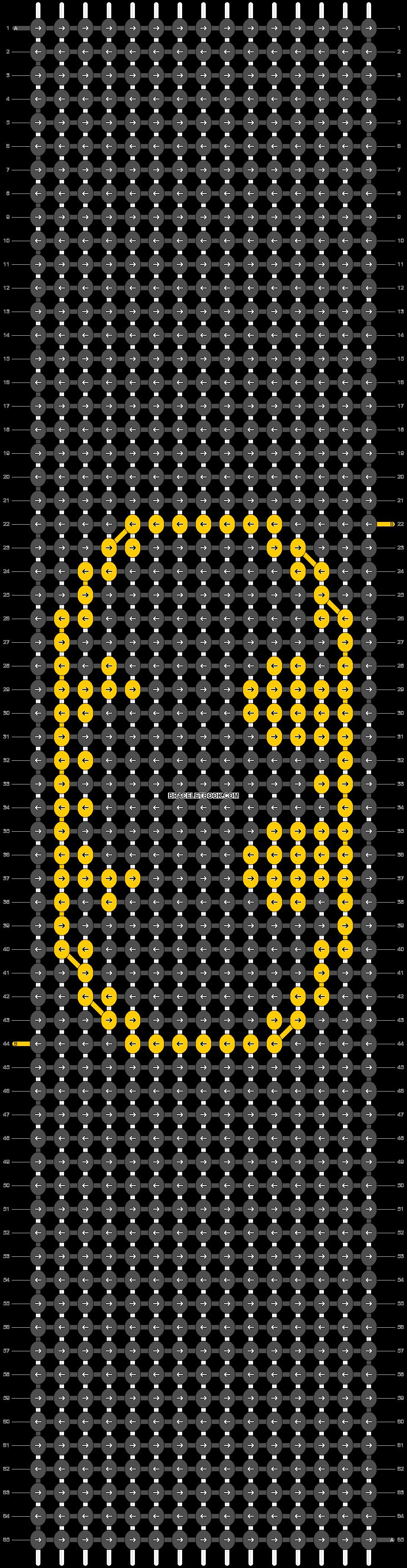 Alpha pattern #18848 pattern