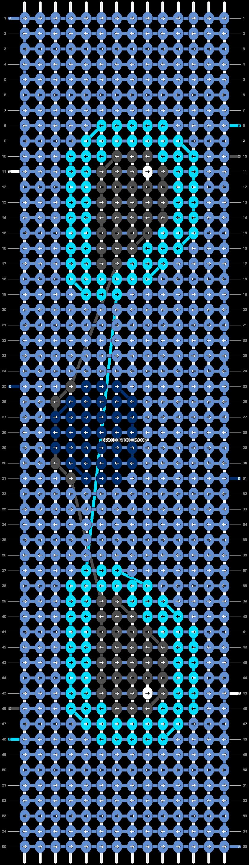 Alpha pattern #18850 pattern