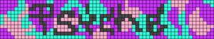 Alpha pattern #18856