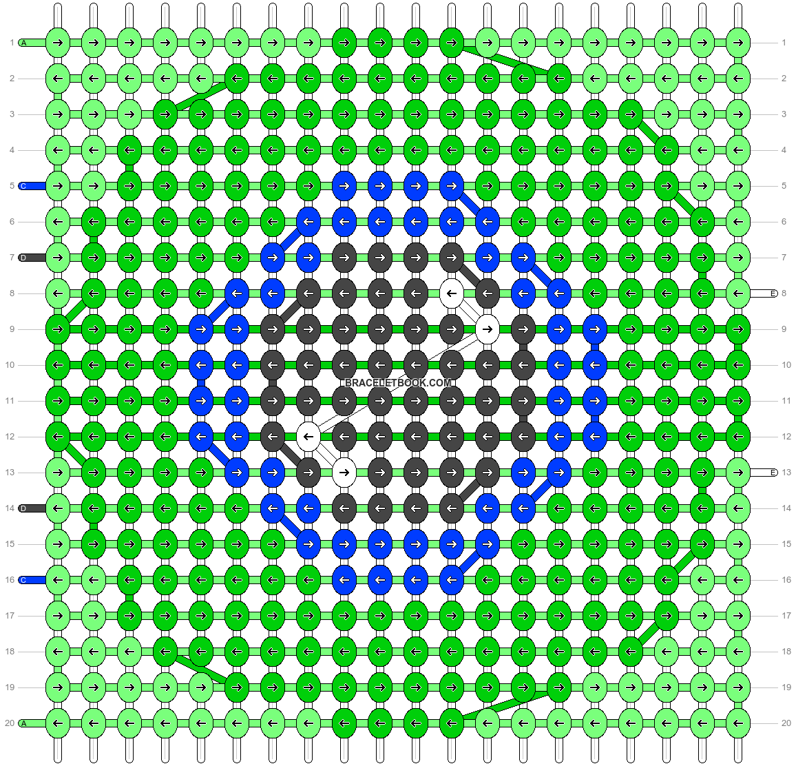 Alpha pattern #18858 pattern