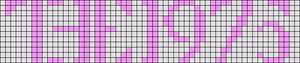 Alpha Friendship Bracelet Pattern #18860