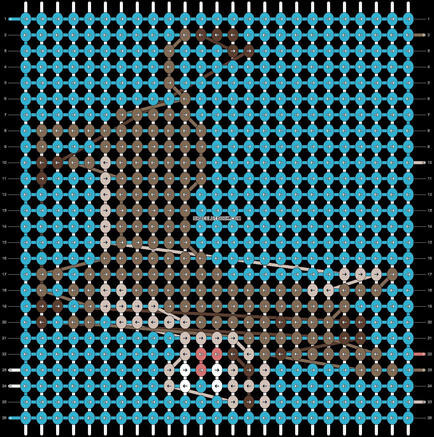 Alpha pattern #18862 pattern