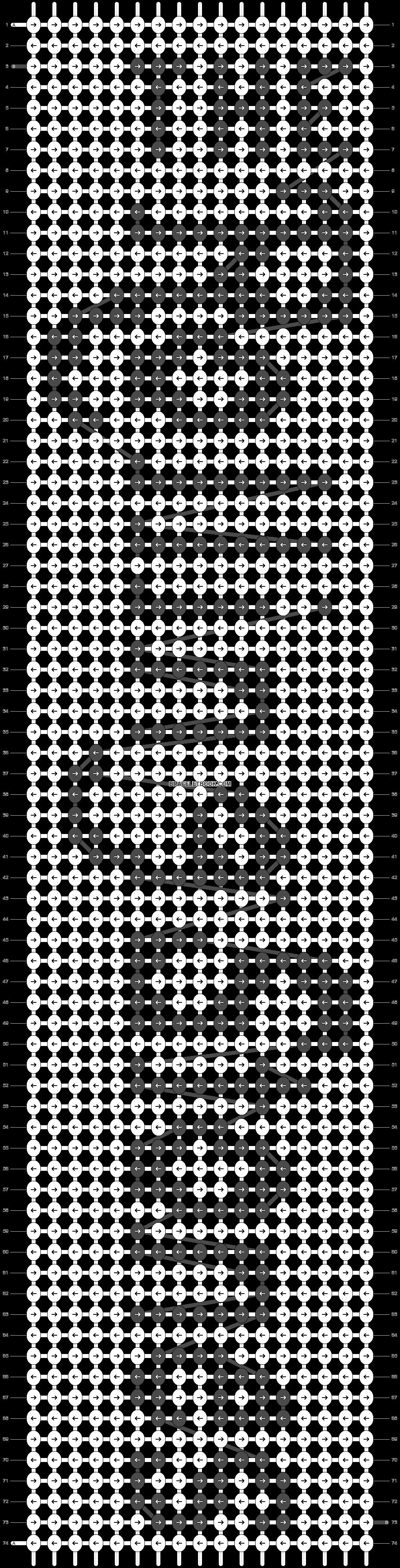 Alpha pattern #18867 pattern