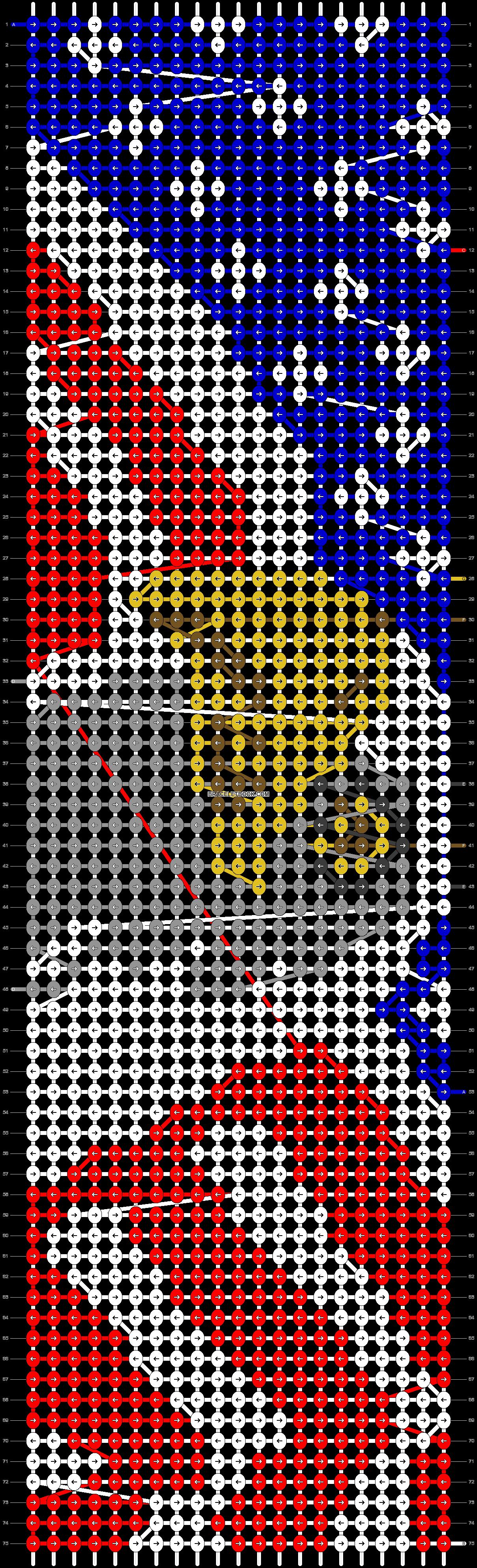 Alpha pattern #18869 pattern