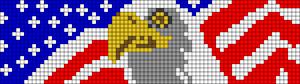 Alpha Friendship Bracelet Pattern #18869