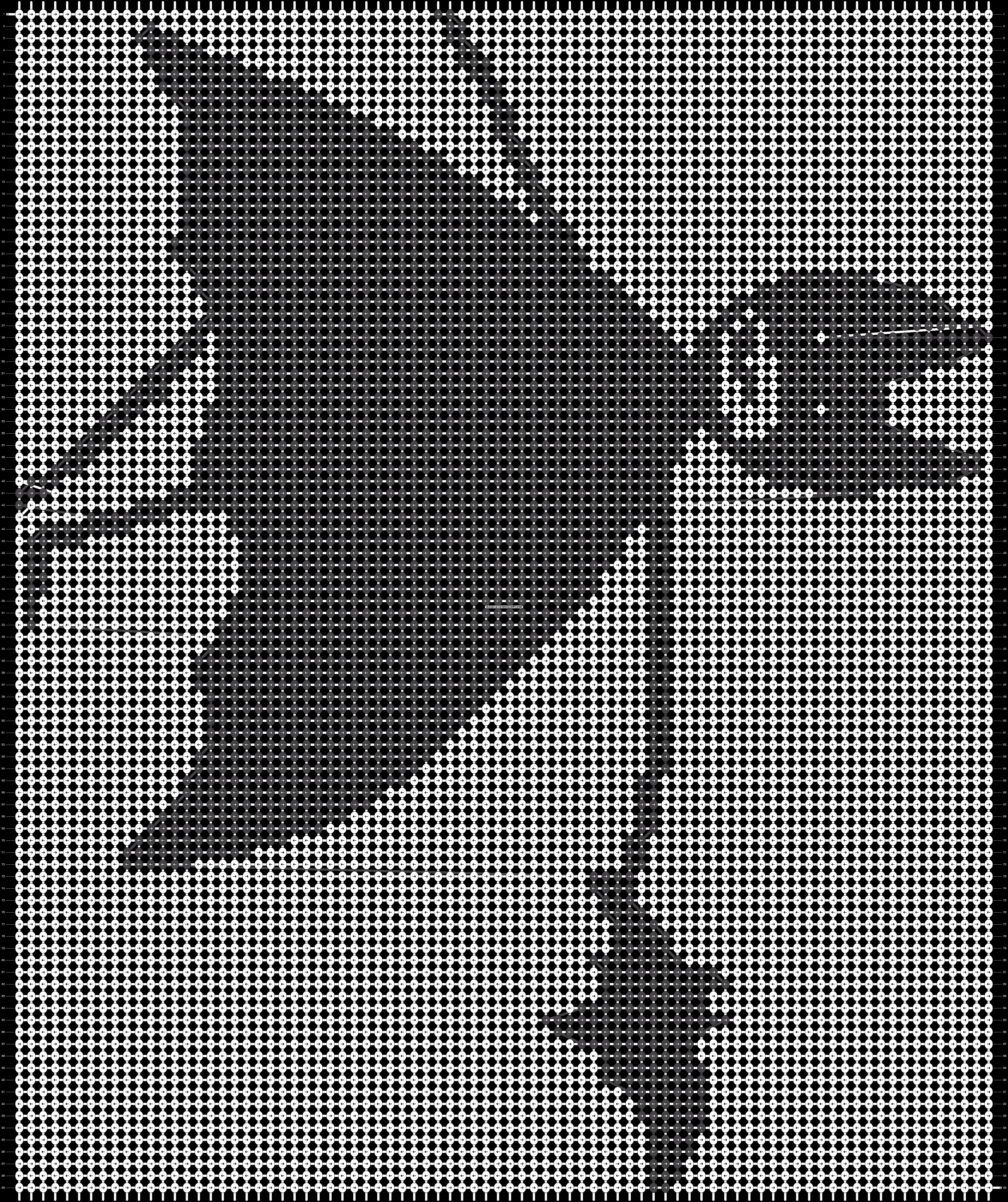 Alpha pattern #18893 pattern