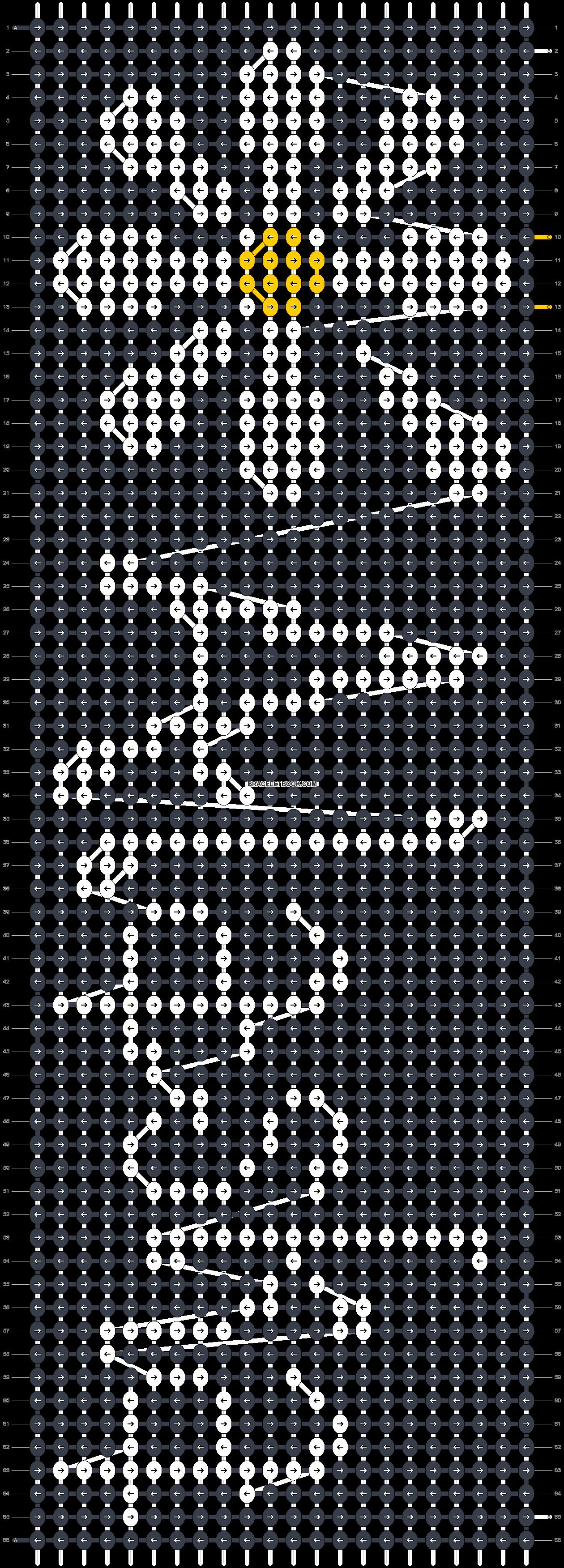 Alpha pattern #18897 pattern