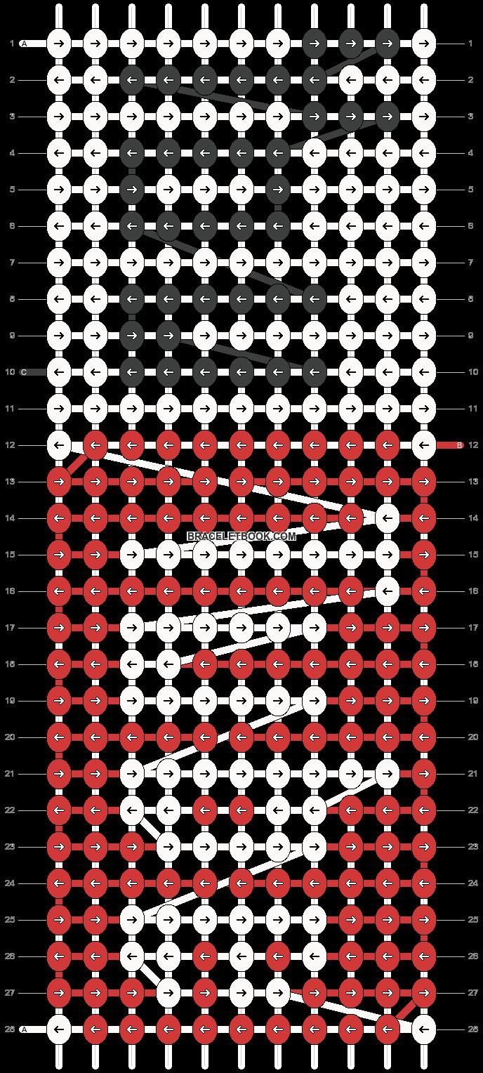 Alpha pattern #18903 pattern