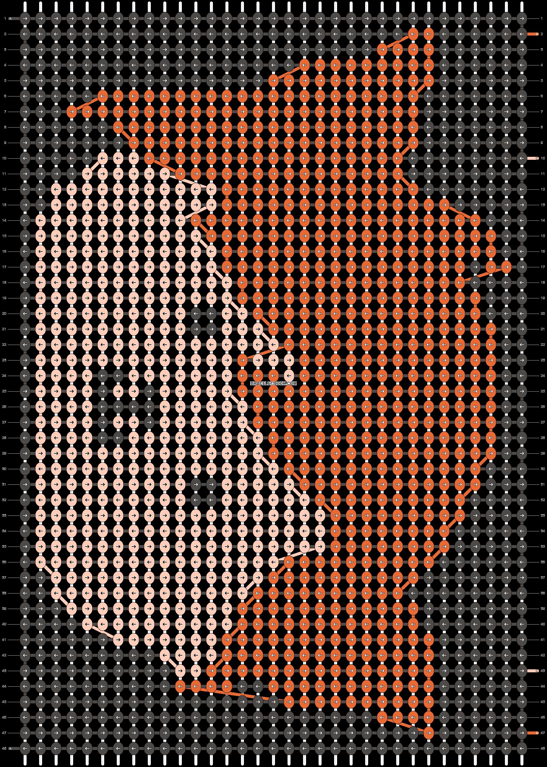 Alpha pattern #18904 pattern