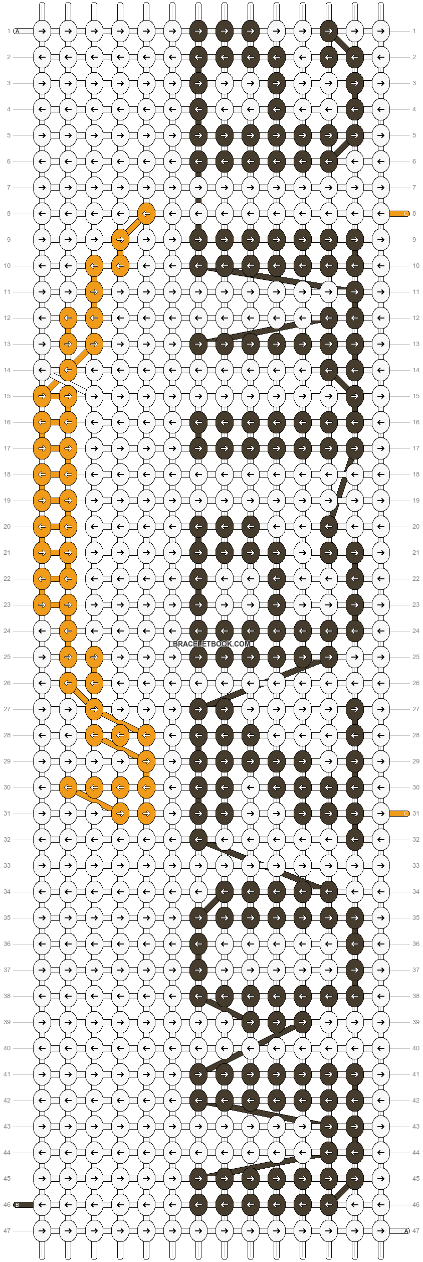 Alpha pattern #18905 pattern