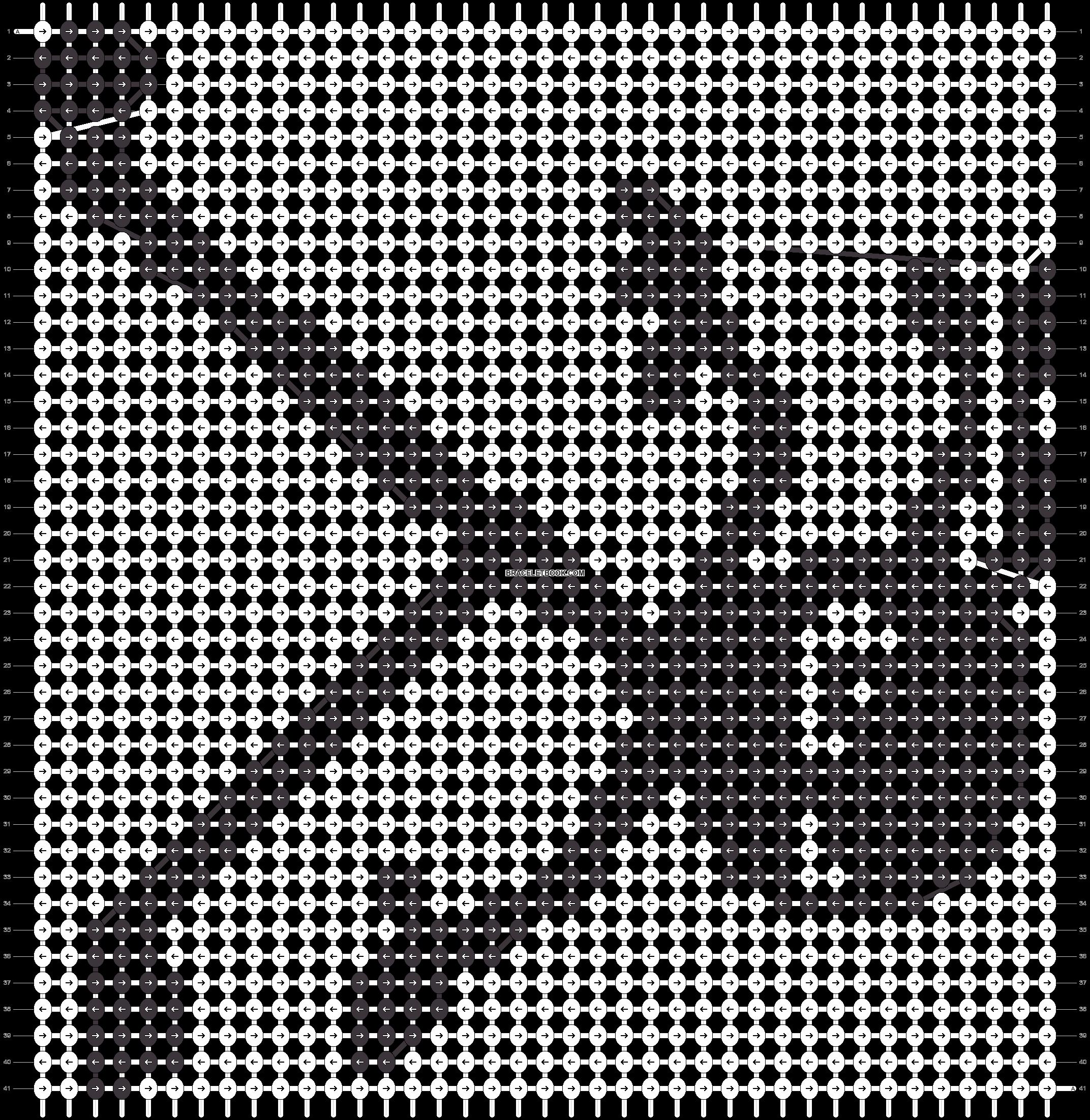 Alpha pattern #18906 pattern
