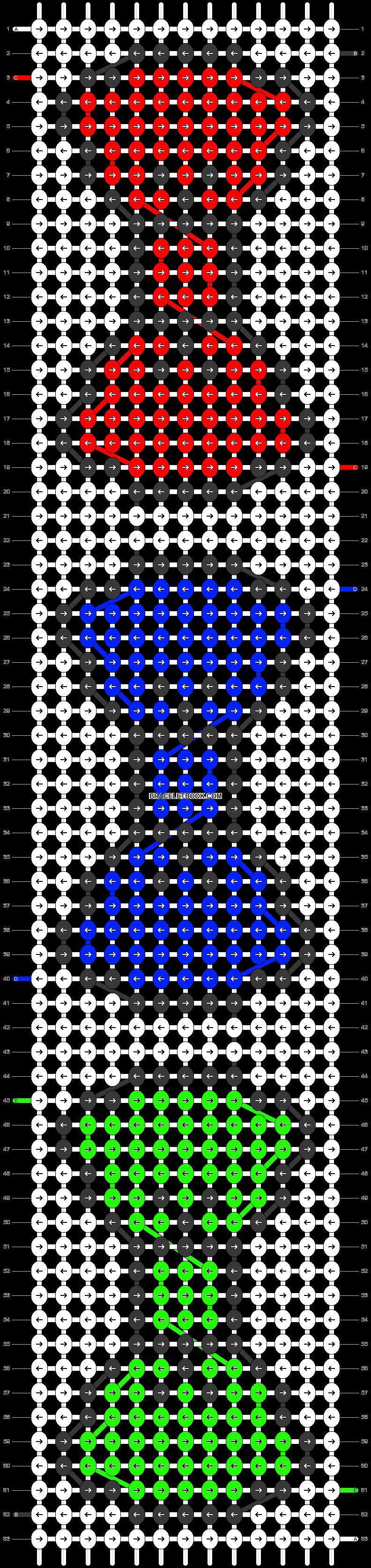 Alpha pattern #18922 pattern