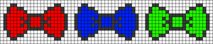 Alpha Friendship Bracelet Pattern #18922