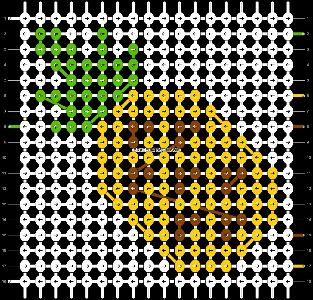 Alpha pattern #18924 pattern