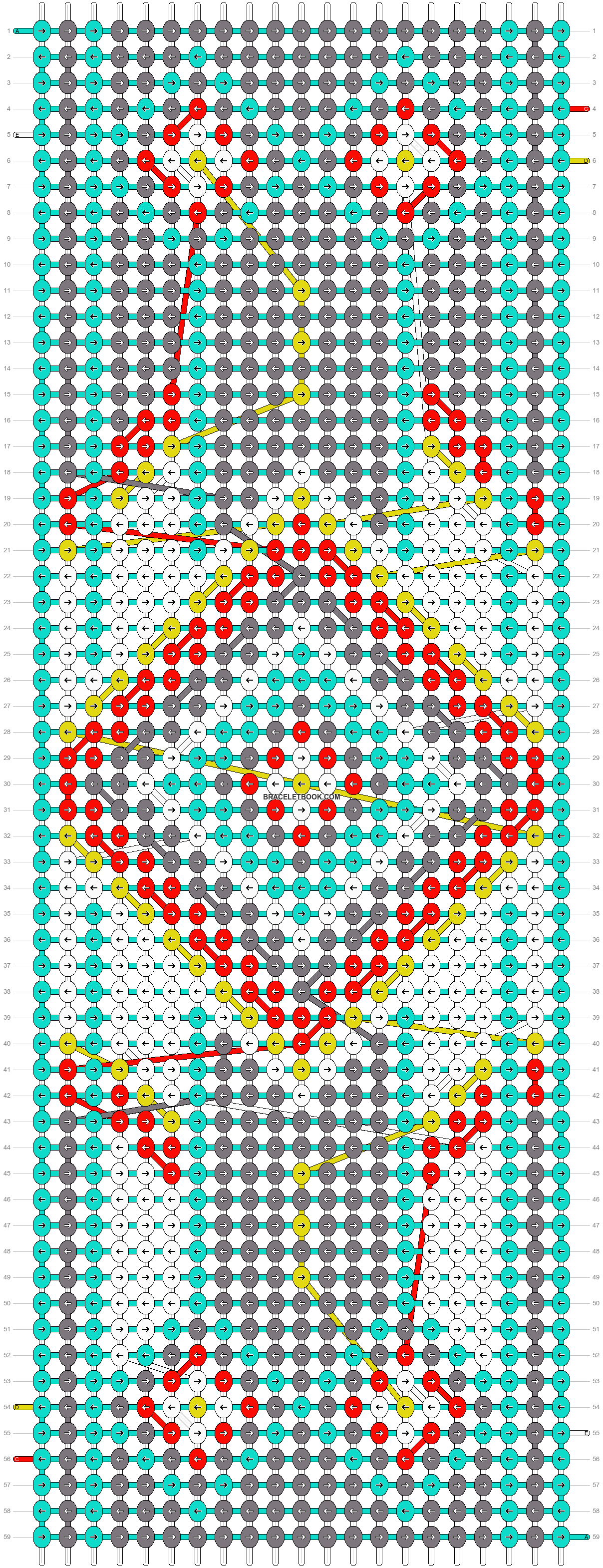 Alpha pattern #18928 pattern