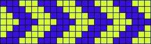 Alpha Friendship Bracelet Pattern #18935