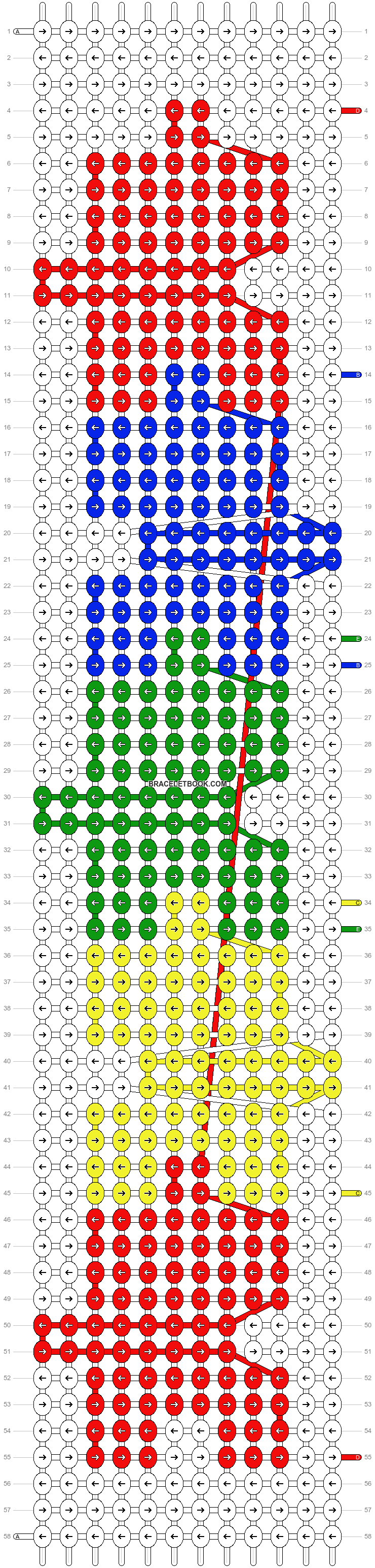Alpha pattern #18936 pattern