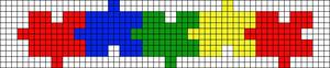 Alpha Friendship Bracelet Pattern #18936