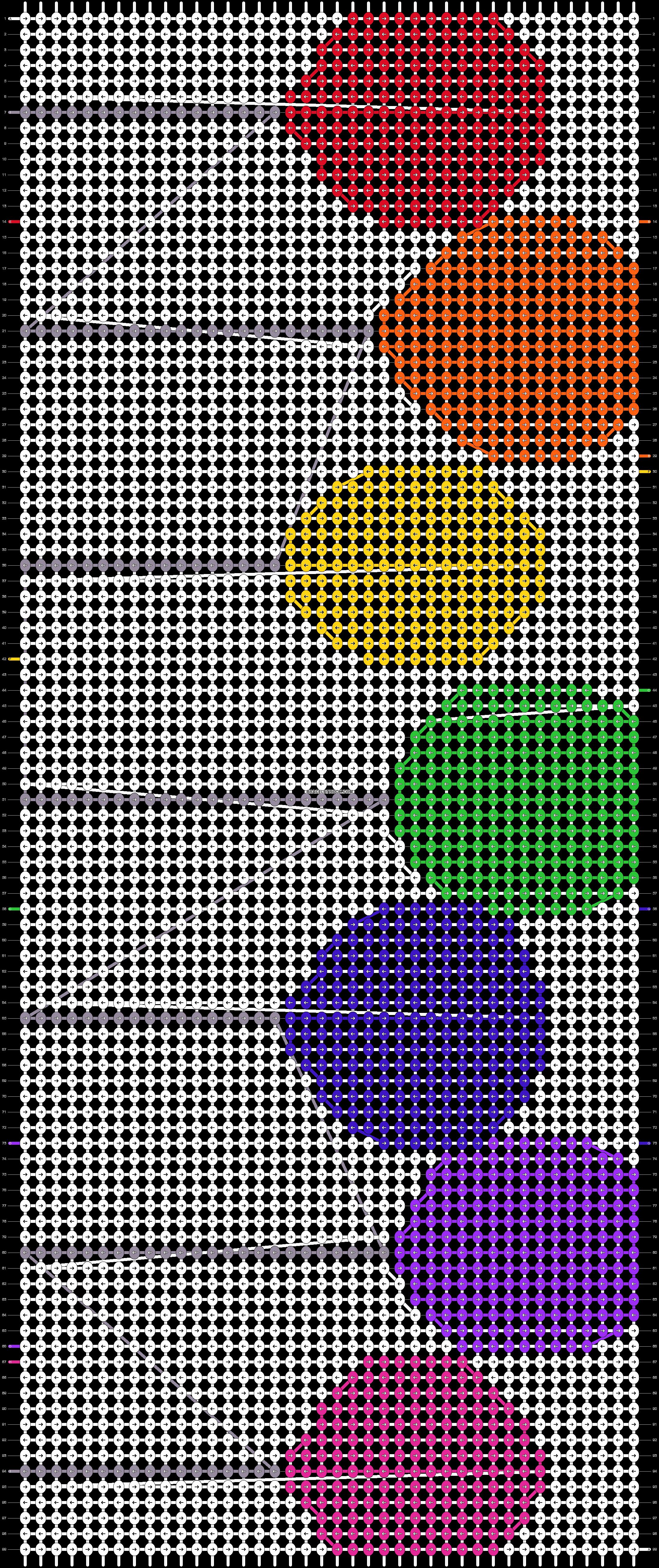 Alpha pattern #18937 pattern