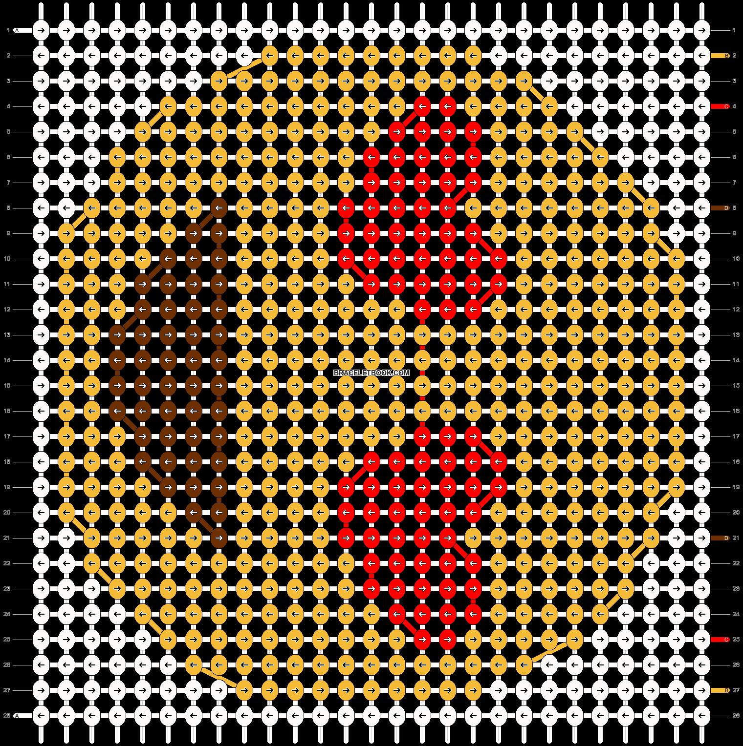 Alpha pattern #18952 pattern