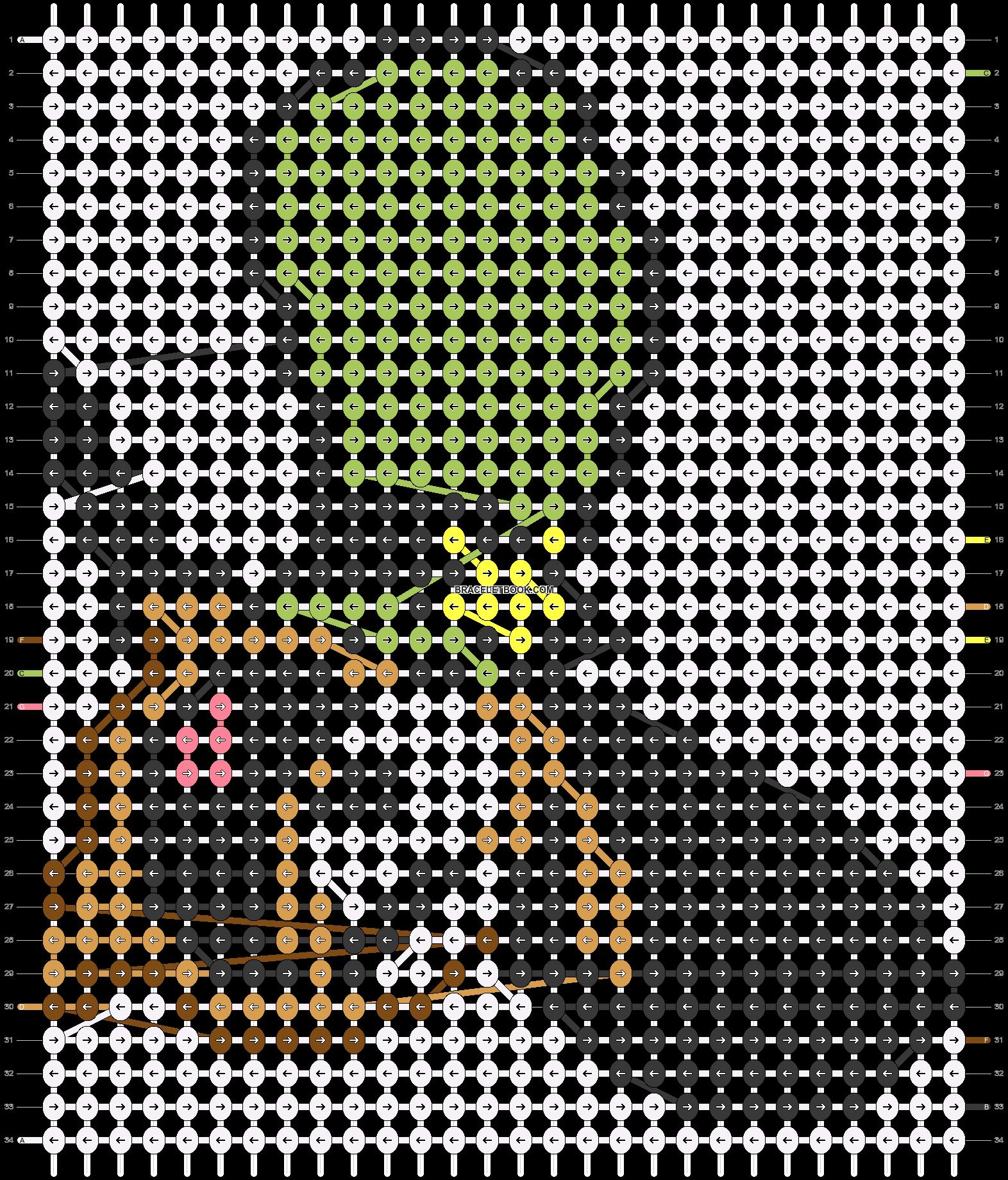 Alpha pattern #18953 pattern