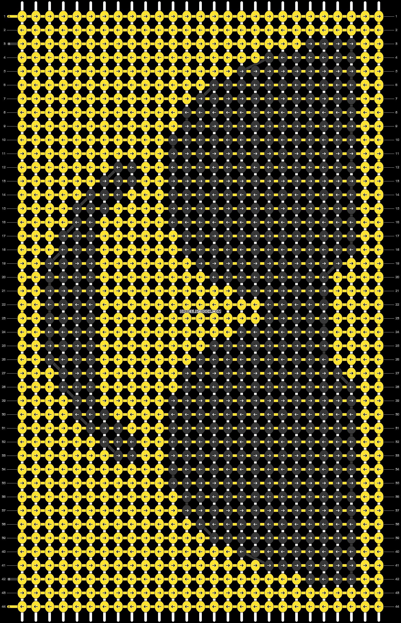 Alpha pattern #18955 pattern