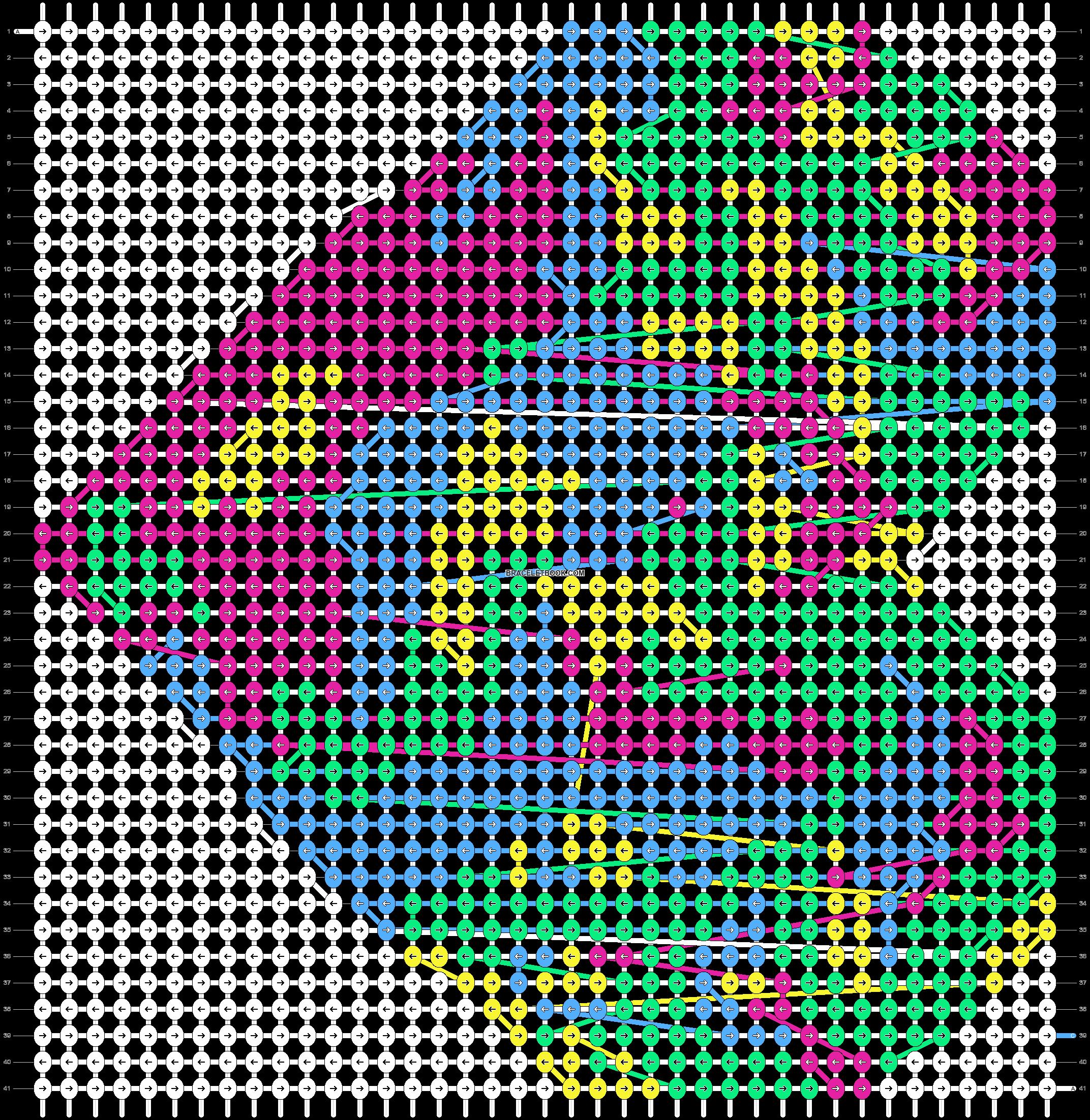Alpha pattern #18957 pattern