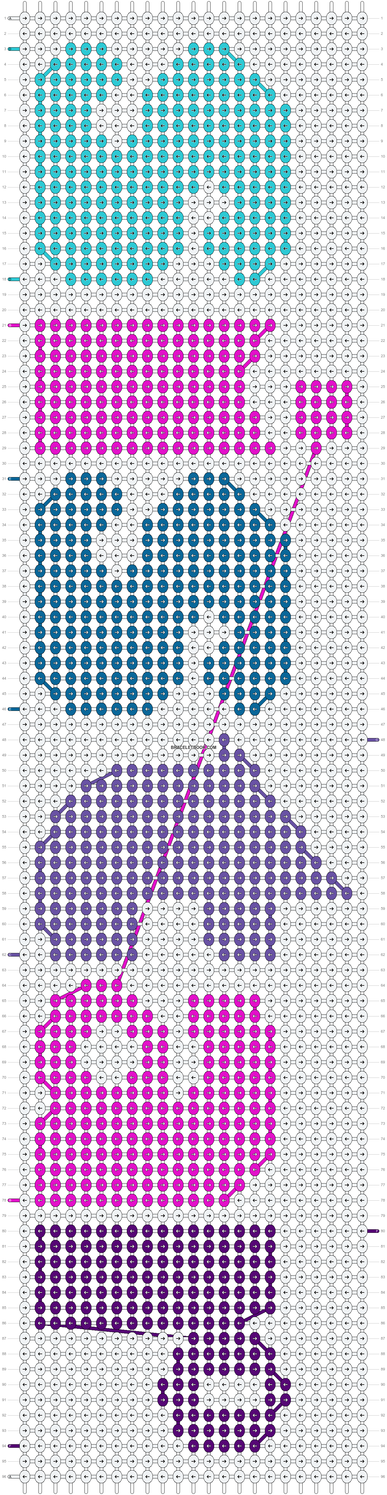 Alpha pattern #18959 pattern