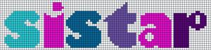 Alpha Friendship Bracelet Pattern #18959