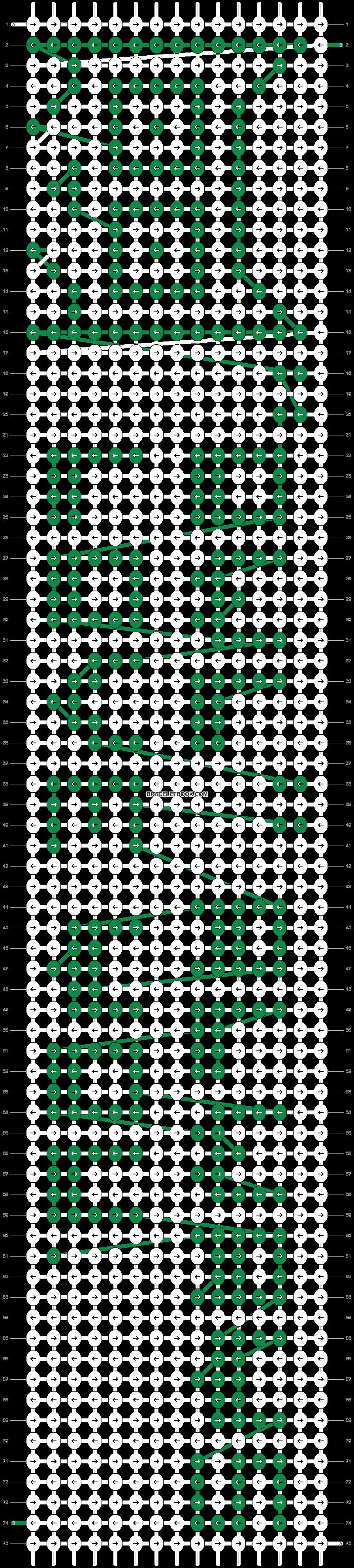 Alpha pattern #18960 pattern