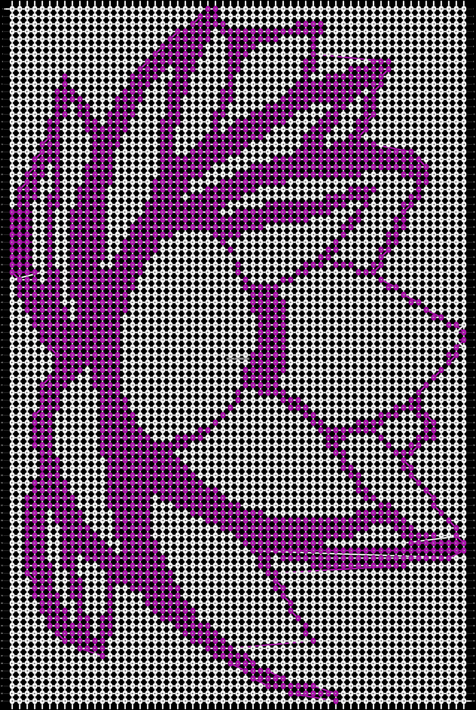 Alpha pattern #18962 pattern