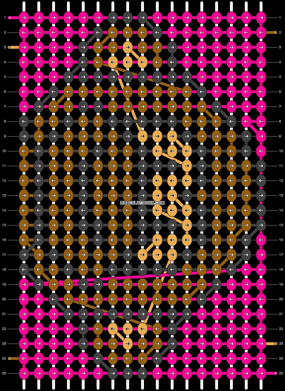 Alpha pattern #18963 pattern