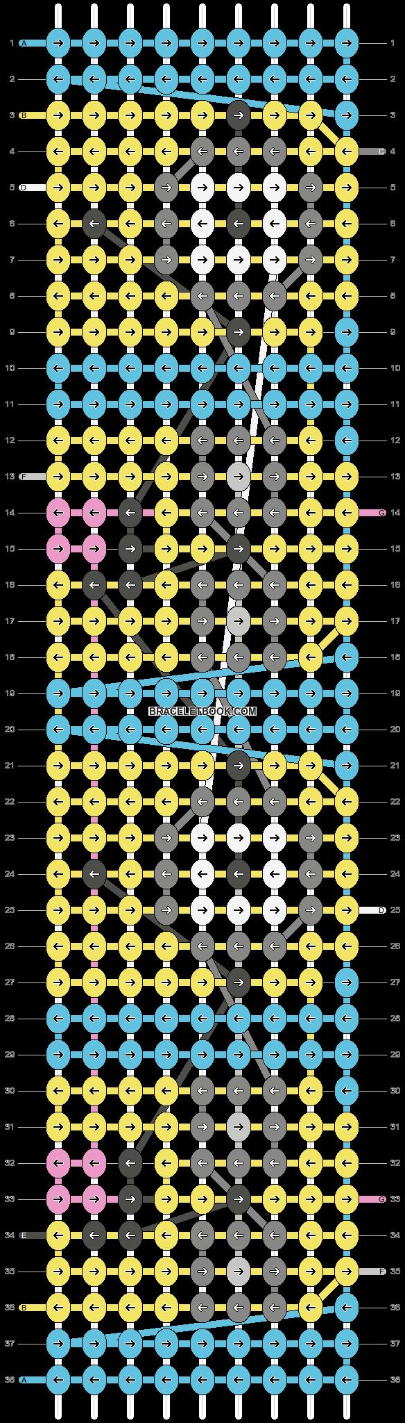 Alpha pattern #18967 pattern