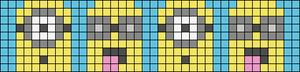 Alpha Friendship Bracelet Pattern #18967