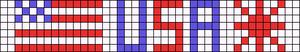 Alpha Friendship Bracelet Pattern #18968