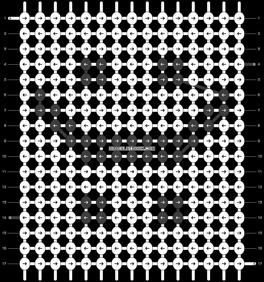 Alpha pattern #18978 pattern