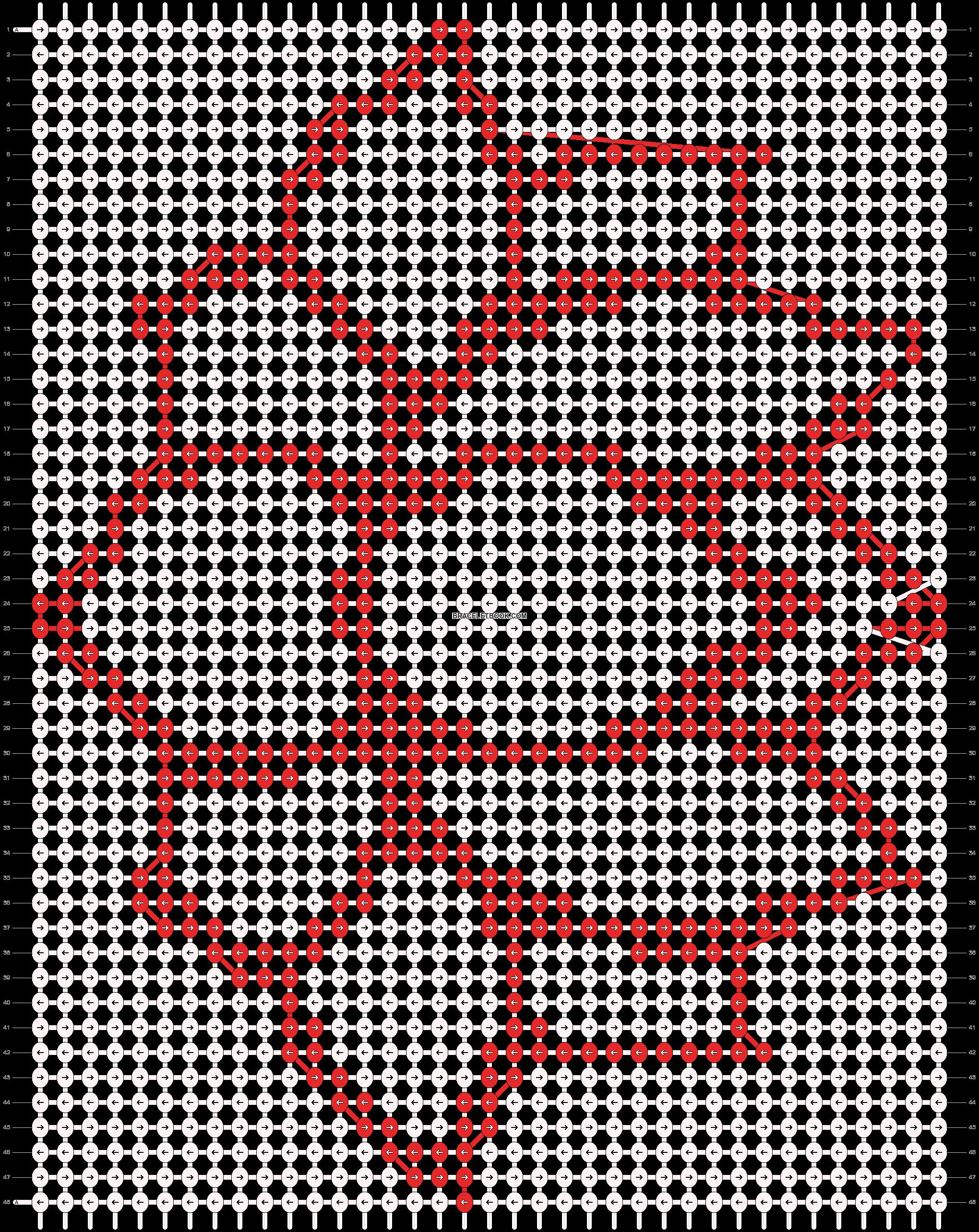 Alpha pattern #18985 pattern
