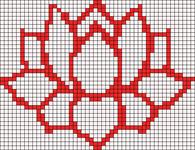 Alpha Friendship Bracelet Pattern #18985
