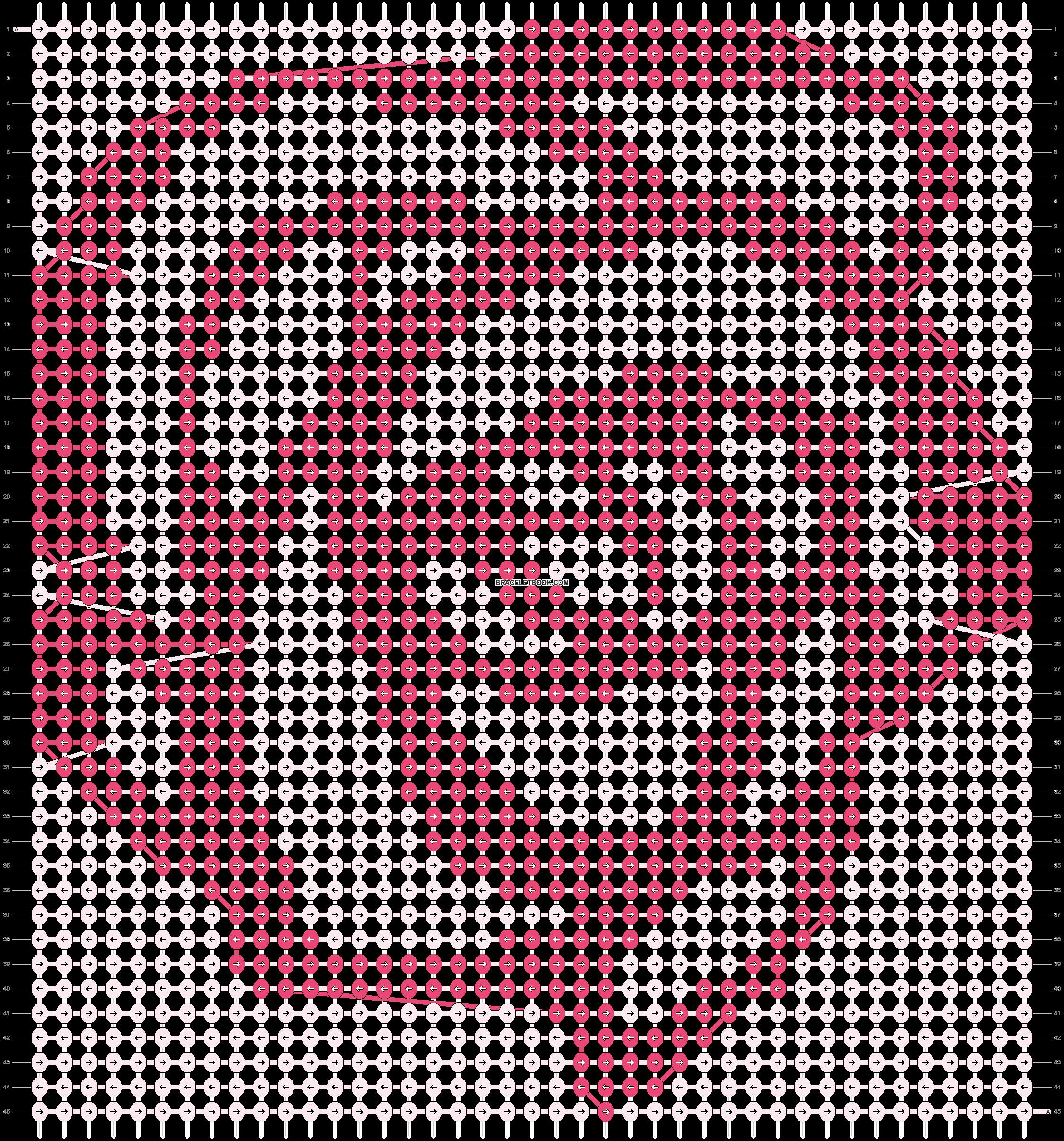 Alpha pattern #18986 pattern