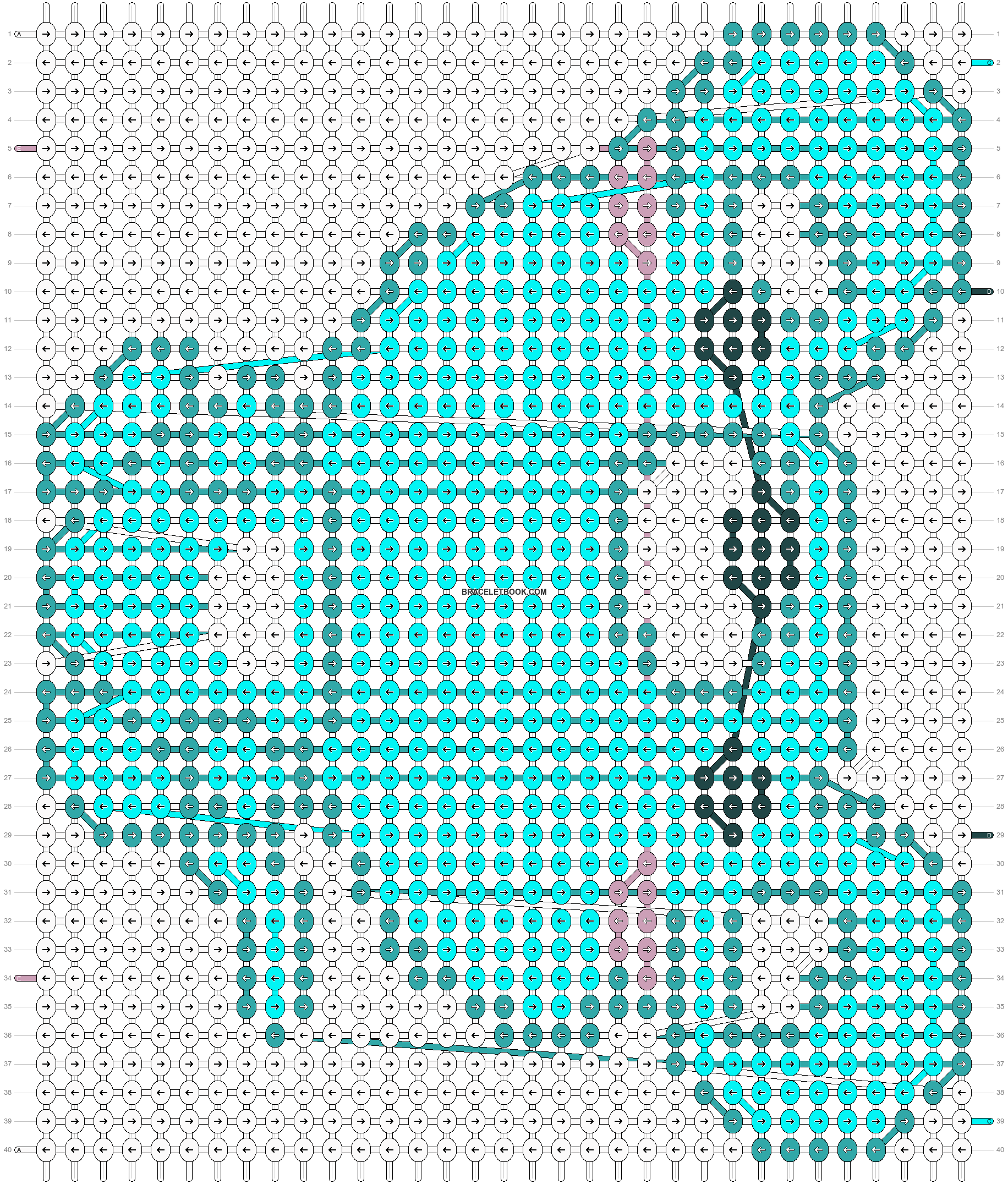 Alpha pattern #18987 pattern