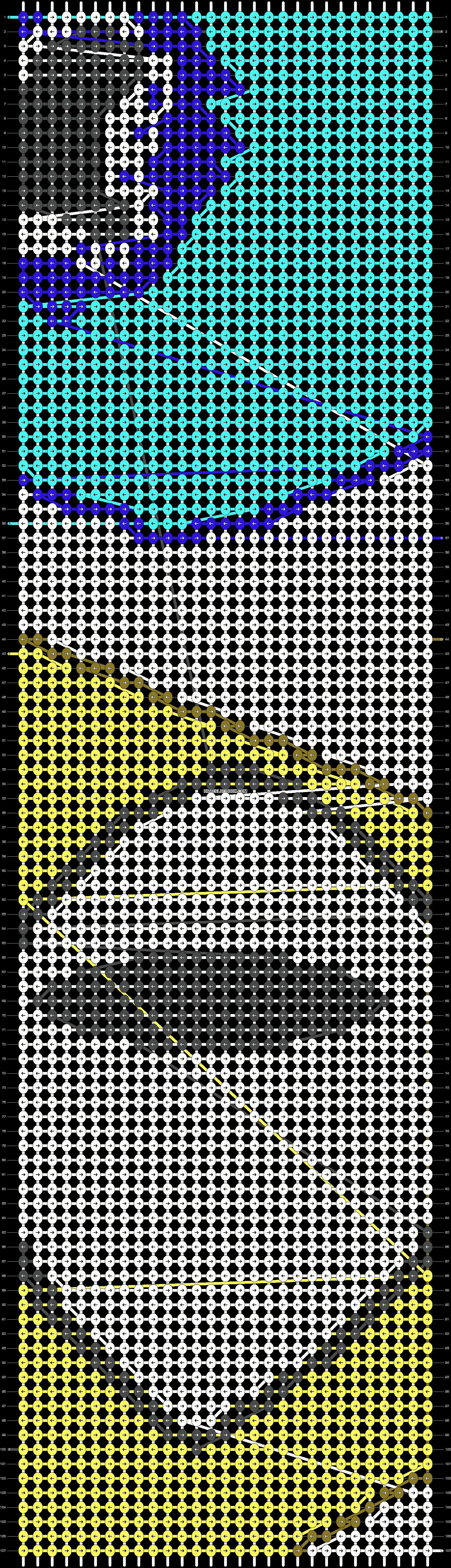Alpha pattern #18991 pattern