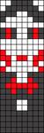 Alpha Friendship Bracelet Pattern #18996