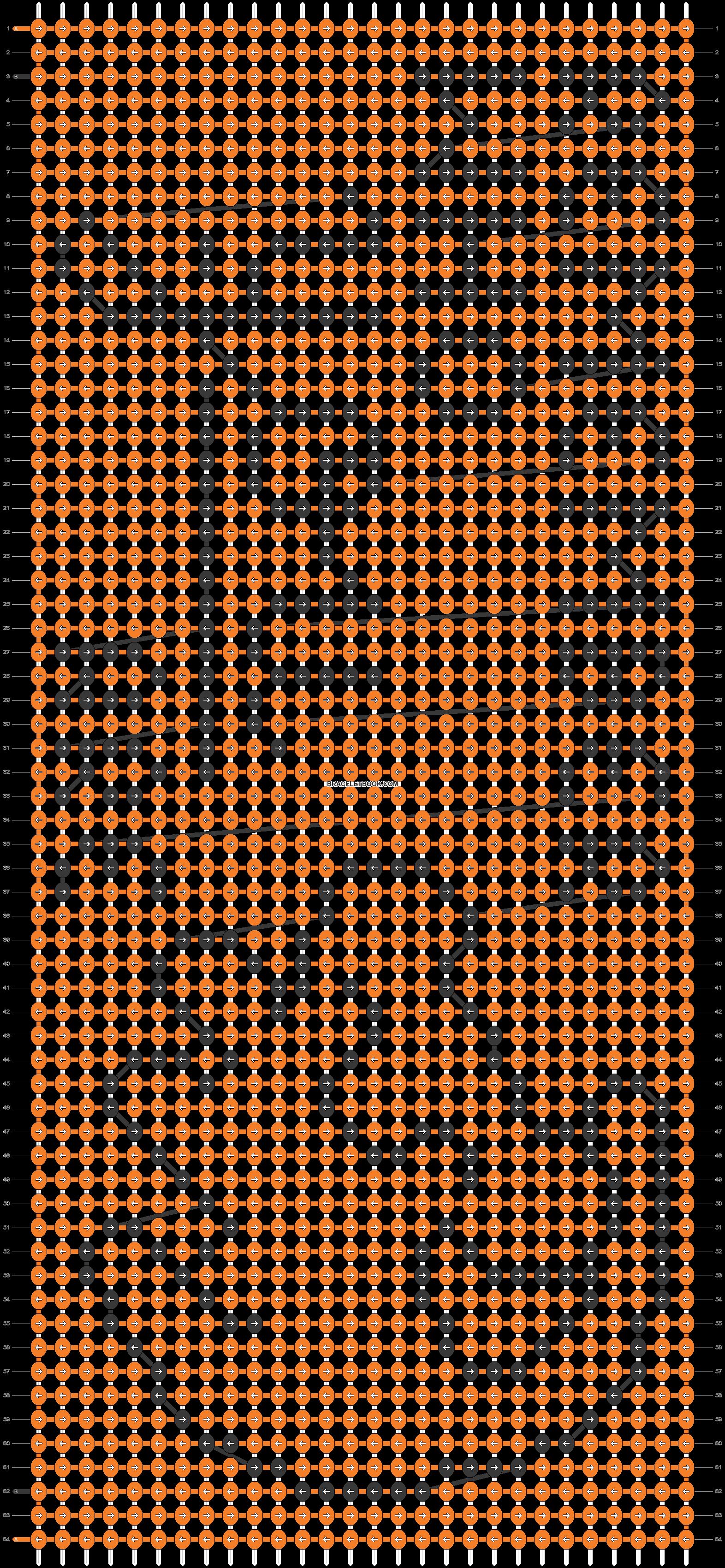 Alpha pattern #19001 pattern