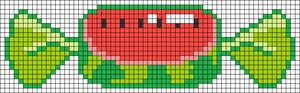 Alpha Friendship Bracelet Pattern #19004
